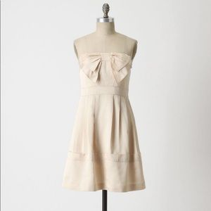 Anthropologie - sine blushing faille dress